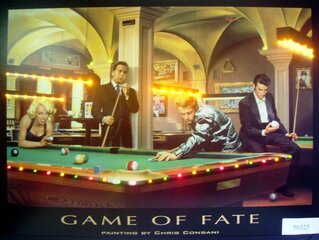 Постер LED GAME OF FATE 810 X 610 MM