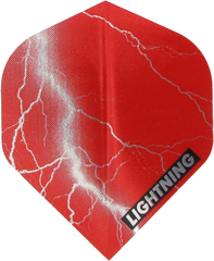 ПЕРО Metallic Lightning  - Red